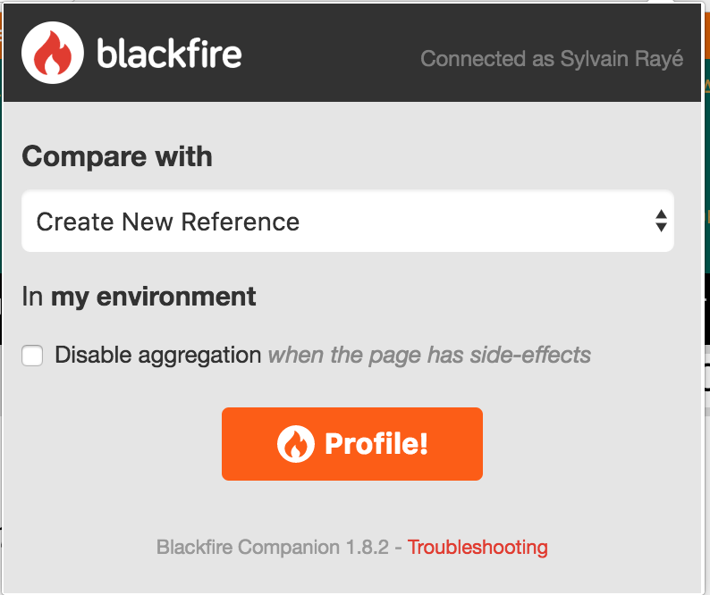 blackfire.io-companion